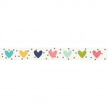 Simple Stories Domestic Bliss Washi Tape - Bless This Mess 7821