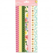 Pebbles Tealightful Washi Tape Strips Book 733541