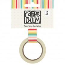 Simple Stories Summer Days Washi Tape - Good Vibes 9119