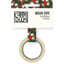 Simple Stories Very Merry Washi Tape - Just Believe 9261