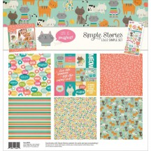 """Simple Stories Life Is Purrfect 12""""x12"""" Simple Sets Collection Kit 9281"""
