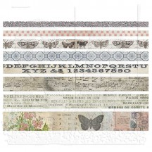 Tim Holtz Idea-ology Washi Design Tape - Butterfly TH93356