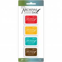 Ranger Wendy Vecchi Mini Archival Ink Pad Kit 1 AMDK57796