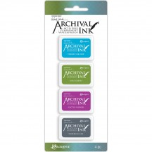 Ranger Wendy Vecchi Mini Archival Ink Pad Kit 2 AMDK57802