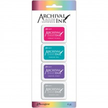 Ranger Wendy Vecchi Mini Archival Ink Pad Kit 4 AIMK57703