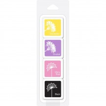 Hero Arts Swallowtail Layering Mini Color Cube Ink Pad Pack AF413