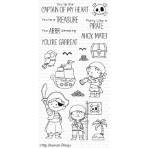 My Favorite Things Birdie Brown Party Like A Pirate Clear Stamps BB-46