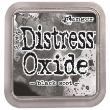 Ranger Tim Holtz Black Soot Distress Oxide Ink Pad TDO55815