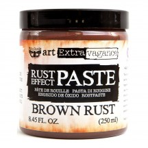Prima Finnabair Art Extravagance Rust Effect Paste Brown Rust 964696