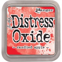 Ranger Tim Holtz Candied Apple Distress Oxide Ink Pad TDO55860 red