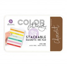 Prima Color Philosophy Chocolat Brown Stackable Magnetic Dye Ink Pad 589486