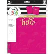 Me & My Big Ideas Create 365 CLASSIC Happy Planner Snap-In Cover Hello Life COLC-06