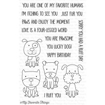 My Favorite Things Four-Legged Friends Clear Stamps CS-186
