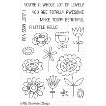 My Favorite Things Springtime Blooms Clear Stamps CS-188