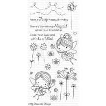 My Favorite Things Fairy Happy Clear Stamp Set CS-206