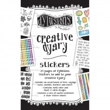 Ranger Dylusions Creative Dyary Stickers by Dyan Reaveley DYE56676