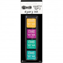 Ranger Dylusions Creative Dyary Ink Pads Set 3 by Dyan Reaveley DYE59165