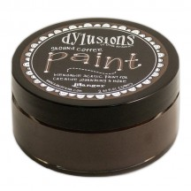 Ranger Dylusions Ground Coffee Paint 2 fl oz - DYP52722 Brown
