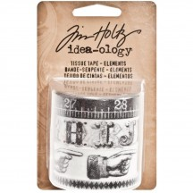 Tim Holtz Idea-ology Paperie Tissue Tape - Elements - TH93068