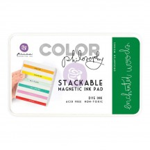 Prima Color Philosophy Enchanted Woods Green Stackable Magnetic Dye Ink Pad 589493