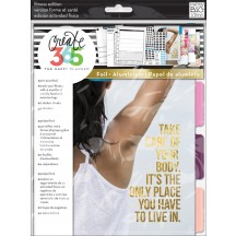 Me & My Big Ideas Create 365 The Happy Planner Fitness Extension Kit MONT-03