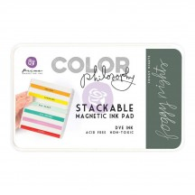 Prima Color Philosophy Foggy Nights Grey Stackable Magnetic Dye Ink Pad 589394