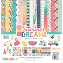 "Echo Park Summer Dreams 12""x12"" Collection Kit DR126023"
