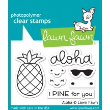 Lawn Fawn Aloha Clear Stamps LF1417