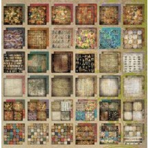 Tim Holtz Idea-ology 12x12 Paper Stash - Lost and Found