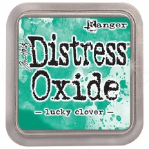 Ranger Tim Holtz Lucky Clover Distress Oxide Ink Pad TDO56041 green