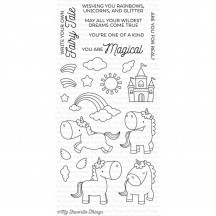 My Favorite Things Magical Unicorns Clear Stamps BB-34
