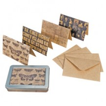 Tim Holtz District Market Notecards - Metropolitan