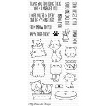 My Favorite Things Birdie Brown Cool Cat Clear Stamps BB-33