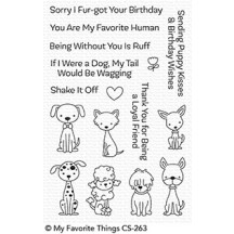 My Favorite Things Puppy Kisses Clear Stamps CS-263