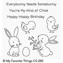 My Favorite Things Hoppy Friends Clear Stamps CS-280