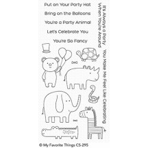 My Favorite Things Safari Party Clear Stamps CS-295