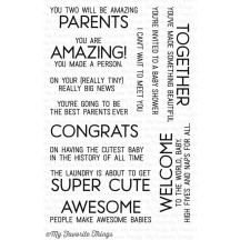 My Favorite Things LLD Welcome Baby Clear Stamps LLD-54