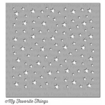 My Favorite Things MIX-ables Star Celebration Stencil ST-78
