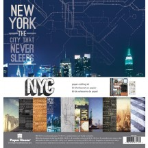 """Paper House NYC 12""""x12"""" Paper Crafting Kit KTSP1024"""