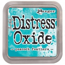 Ranger Tim Holtz Peacock Feathers Distress Oxide Ink Pad TDO56102 teal