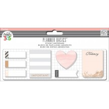 Me & My Big Ideas Create 365 The Happy Planner Basics Rose Gold Small Sticky Notes POSB-02