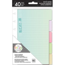 Me & My Big Ideas Create 365 The Happy Planner Sticky Note Tabs Pastels POSTT-01