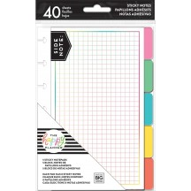 Me & My Big Ideas Create 365 The Happy Planner Sticky Note Tabs Brights POSTT-02