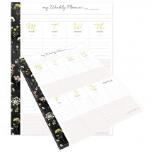 Webster's Pages The Good Life Weekly Planner Tear-away Pad PP41