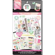 Me & My Big Ideas Create 365 The Happy Planner Watercolor Value Pack Stickers PPSV-18