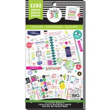 Me & My Big Ideas Create 365 The Happy Planner Teacher Value Pack Stickers PPSV-23