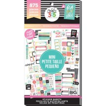 Me & My Big Ideas The Happy Planner MINI Productivity Value Pack Stickers PPSV-32