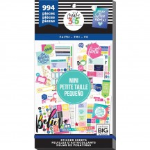 Me & My Big Ideas The Happy Planner MINI Faith Value Pack Stickers PPSV-33