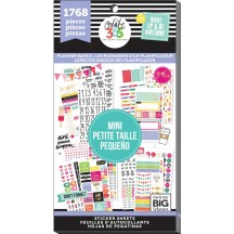 Me & My Big Ideas The Happy Planner MINI Planner Basics Value Pack Stickers PPSV-42