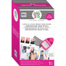 Me & My Big Ideas Create 365 The BIG Happy Planner Weekly Box Punch PUNW-01